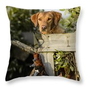 Travis5 Throw Pillow