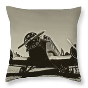 Travelling Through Time Throw Pillow