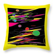 Strange By Terry R. Brooks Throw Pillow