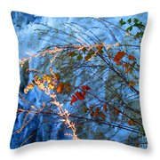 Life Currents Throw Pillow
