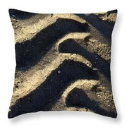 Tread Mark  Throw Pillow
