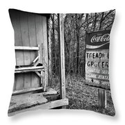 Treadwell Grocery B Throw Pillow