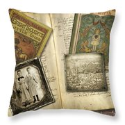 Treasured Objects Throw Pillow