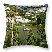 Treasures Little Island Throw Pillow