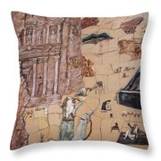 Treasury Mosaic Throw Pillow
