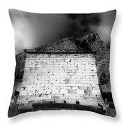 Treasury Of Athenians  Throw Pillow