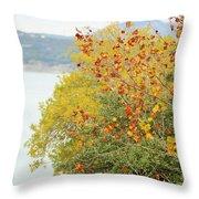 Tree 010 Throw Pillow