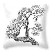 Tree 14 Throw Pillow