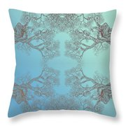Tree 20 Hybrid 3 Throw Pillow