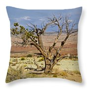 Tree #4 Throw Pillow