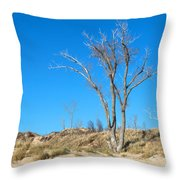 Tree And A Dune Throw Pillow