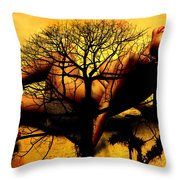 Tree And Her Throw Pillow