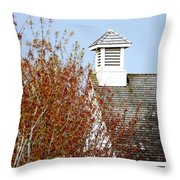 Tree And School House 795 Throw Pillow