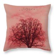 Tree Art 01 Throw Pillow