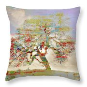 Tree Art 54tr Throw Pillow
