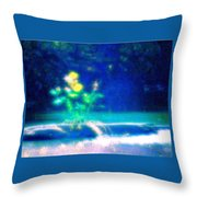 Tree Art Throw Pillow