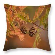 Tree Babies Throw Pillow