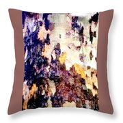 Tree Bark 2 Throw Pillow