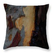 Tree Bark Collection # 52 Throw Pillow