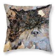 Tree Barks Pattern #13 Throw Pillow