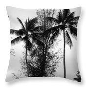 Tree Between The Trees Throw Pillow