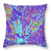 Tree Branches 10 Throw Pillow