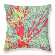 Tree Branches 8 Throw Pillow