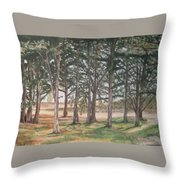Tree Collection Throw Pillow