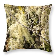 Tree Decorations Throw Pillow
