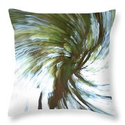 Tree Diptych 1 Throw Pillow