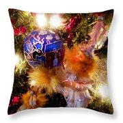Tree Elf Throw Pillow