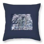 Tree Fantasy 14 Throw Pillow