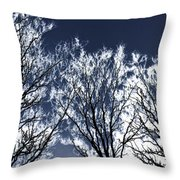 Tree Fantasy 2 Throw Pillow