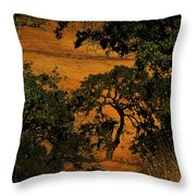 Tree Formation Throw Pillow