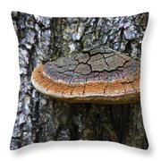 Tree Fungus 4 Throw Pillow