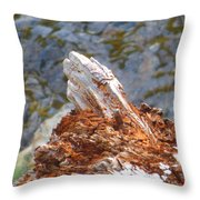 Tree Going Back To The Earth Throw Pillow