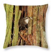 Tree Home Throw Pillow