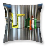 Tree House Brewery Piping Throw Pillow