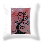 Tree II Wr Throw Pillow