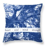 Tree In Your Heart Throw Pillow