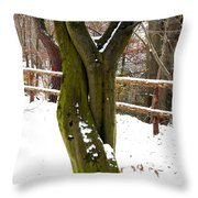Tree Lovers Throw Pillow