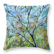 Tree Number Two Throw Pillow
