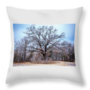 Tree Of Beauty Throw Pillow