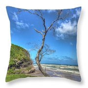 Tree Of Clouds Throw Pillow