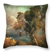 Tree Of Confusion Throw Pillow