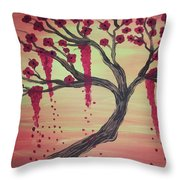 Tree Of Desire 2 Throw Pillow