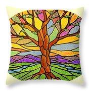Tree Of Grace 2 Throw Pillow