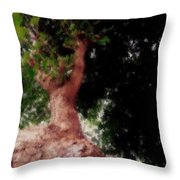 Tree Of Heaven Throw Pillow