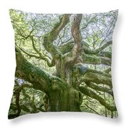 Tree Of History Throw Pillow
