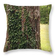 Tree Of Ivy Throw Pillow